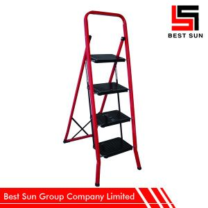 Portable Household Ladder with Rubber Feet pictures & photos