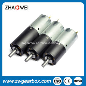 24V 28mm Planetary Reducer Gearbox with DC Gear Motor pictures & photos