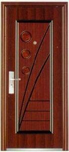 New Design Steel Door Single Leaf Door Security Steel Door (steel door) pictures & photos