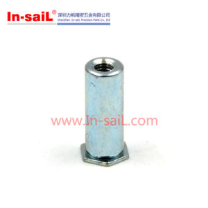 M4 Zn Plated Steel Self Clinching Flush Nut pictures & photos