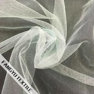 100%Nylon Warp Knitting Flash Tulle Mesh Fabric