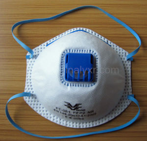Disposable Dust Face Mask Respirator with Valve pictures & photos