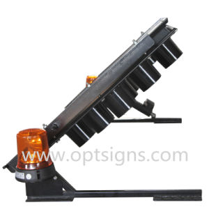 Optraffic Traffic Control Warning Vehicle Mounted LED Arrow Sign, Flashing Arrow Sign pictures & photos