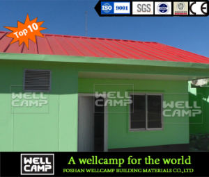 Customized Sandwich Panel Prefabricated House for Class Room pictures & photos