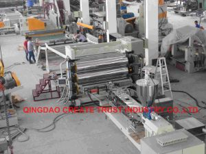 Top Quality Level Pet, PP, PS, PE, ABS Plastic Sheet Extruder (CE/ISO9001) pictures & photos