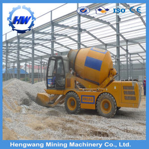 Small and Large Size Self-Loading Concrete Mixer Machine (Manufacturer) pictures & photos