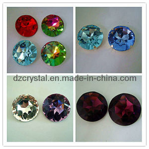 Round Shape Crystal Stone for Factory Wholesale (3001) pictures & photos