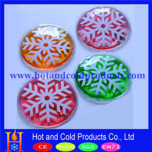 10cm Round Hot Pack in 4 Colors for Promotion (HW-211)
