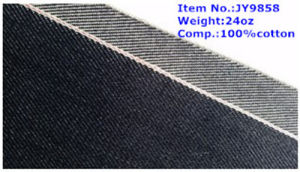 24oz Heavy Weight Selvedge Denim Wholesale Fabric (JY9858)