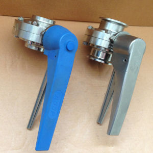 Stainless Steel SMS Sanitary Butterfly Valve Gate pictures & photos