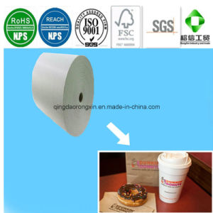 Double Sides PE Coated Paper for Dunkin Donuts Dessert Packaging pictures & photos