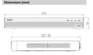 Dahua 32channel 1u 8poe 4K&H. 265 PRO Security NVR (NVR5232-8P-4KS2) pictures & photos
