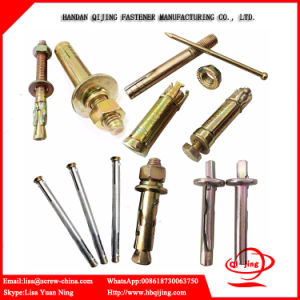 Expansion Bolt, Hardware Fasteners Galvanized Sleeve Anchors pictures & photos