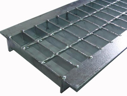 Steel Grating Gully Cover and Well Cover, Hot-DIP Galvanization pictures & photos