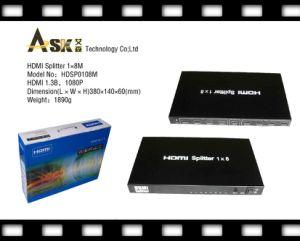 HDMI Splitter 1*8 Mini (Support 3D)