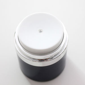 High Quality 30ml Centre Dispense Airless Jar Airless Double Wall Cosmetic Jar pictures & photos