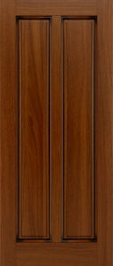 Traditional Style Solid Mahogany Wood Door pictures & photos