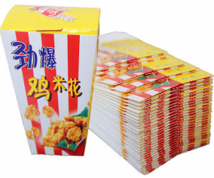 Special Ordered Popcorn Package Box (PB-085) pictures & photos