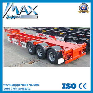 High and Low Bed Skeletal Trailer/Semi Trailer/Semi-Trailer pictures & photos
