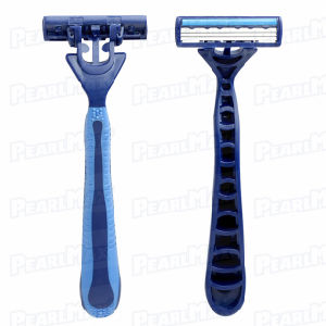 Triple Blade Non-Disposable Razor for Men pictures & photos