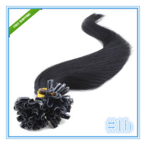 Pre-Bonded Human Hair Extensions Nail Hair pictures & photos