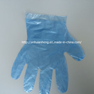 Transparent Disposable Poly Plastic Gloves Sanitary Gloves 100 PCS/Set pictures & photos