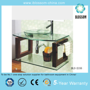 Glass Wash Basin Vanity (BLS-2155) pictures & photos