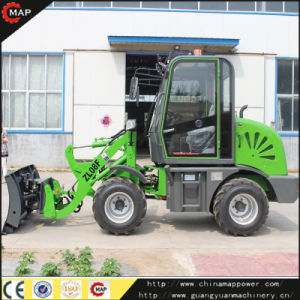 Mini Compact 4 Wheel Drive Skid Loader for Sale pictures & photos