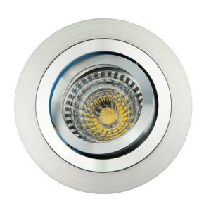 Lathe Aluminum GU10 MR16 Round Tilt Recessed LED Downlight (LT2300) pictures & photos