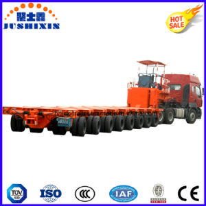 Hydraulic Modular Semitrailer with Gooseneck/Heavy Duty Transport/Multi-Axle/Heavy Cargo Mover/Transport Trailer/Transportation/Logistics/Truck Trailer pictures & photos