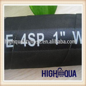 Chinese Rubber Hose En856 4sp Hydraulic Hose pictures & photos