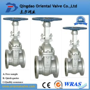ANSI-150lb Scs13 Stainless Steel Flanged Knife Gate Valve with Best Prices pictures & photos
