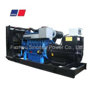 640kw to 2400kw Mtu Series Diesel Generator Power Plant