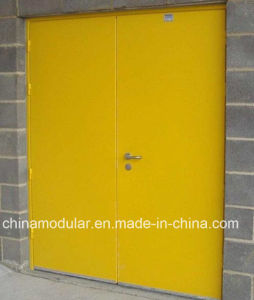 Oman Industrial Steel Door for Workshop (CHAM-DSD02) pictures & photos