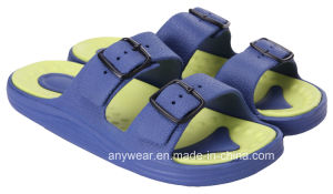 Men EVA Injection Footwear Beach Slippers (815-9194) pictures & photos