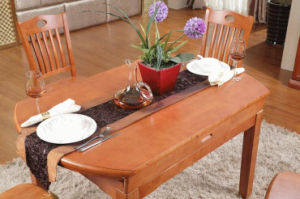 Solid Wooden Dining Desk (M-X2155) pictures & photos