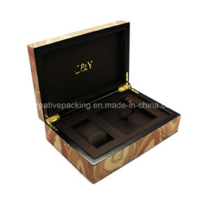 Classical Wooden Watch Box with Solid Hinge pictures & photos