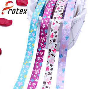 Yama Ribbon 1 Inch 25mm Butterfly Cheap Printed Grosgrain Ribbon pictures & photos