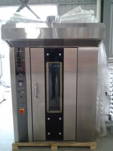 12 Trays Gas Rotary Oven Alb-12q