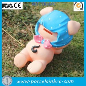 Creative Pig Ceramic Money Box pictures & photos