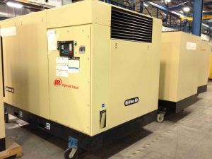 Ingersoll Rand Oil-Free Rotary Screw Air Compressor (SL110 SM110 SH110) pictures & photos