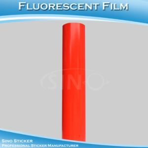 Fast Delivery Fluorescent Red Vinyl Computer Cutting Film