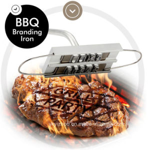 BBQ Branding Iron with 55PCS Changeable Letters pictures & photos