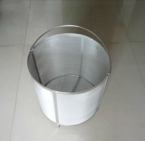 304 Stainless Steel 350mm Beer Brewing Filter Cylinder/Basket/Cartridge pictures & photos