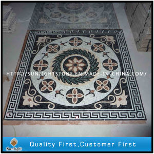 Discount Natural Marble Stone Flooring Mosaic for Room Construction Decoration pictures & photos