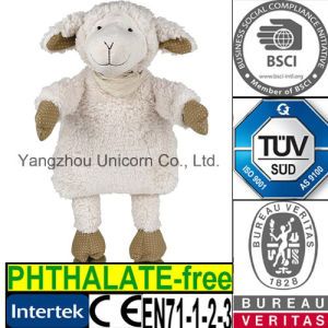 SGS Baby Gift Soft Stuffed Lamb Sheep Plush Toy pictures & photos