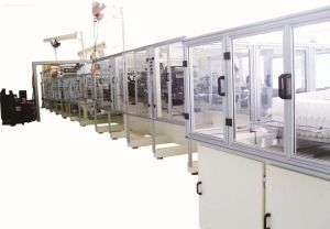 Full-Automatic Baby Diaper Making Machine Production Line