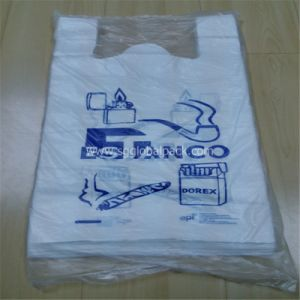 T-Shirt Vest Shopping Bag with Handle pictures & photos