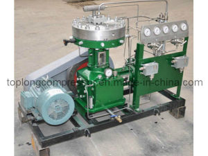 Oil Free Oxygen Helium Nitrogen Argon Diaphragm Compressor Booster (Gl2-30/5-250) pictures & photos