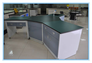 Medical College Laboratory Hexagon Study Table pictures & photos